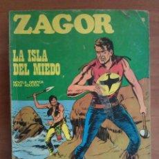 Cómics: 1971 ZAGOR - LA ISLA DEL MIEDO / Nº 15. Lote 116611603