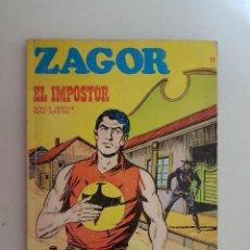 Cómics: ZAGOR Nº 21. BURU LAN.. Lote 116704927