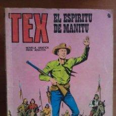 Cómics: TEX EL ESPÍRITU DE MANITU - Nº 46. Lote 116710479
