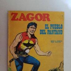 Cómics: ZAGOR Nº 7. BURU LAN.. Lote 116710699