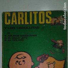 Cómics: CARLITOS Y LOS CEBOLLITAS. TOMO 2 ED. BURULAN 1971. Lote 116947951