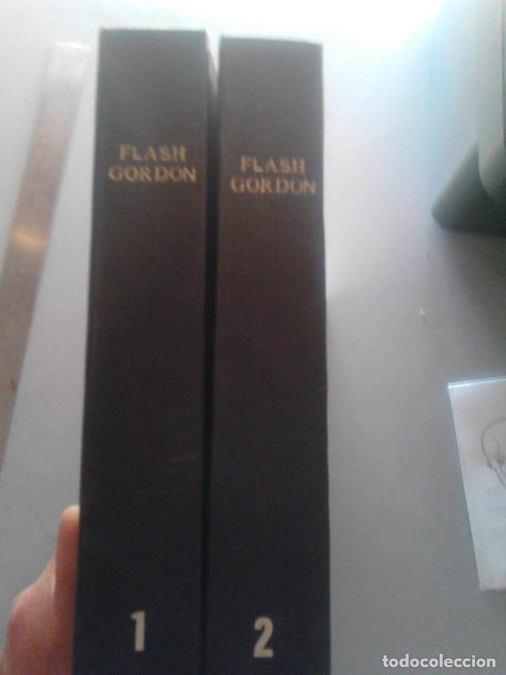 2 TOMOS DE FLASH GORDON (Tebeos y Comics - Buru-Lan - Flash Gordon)