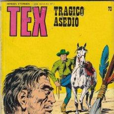 Cómics: TEX. Nº 70 TRÁGICO ASEDIO. Lote 117179987
