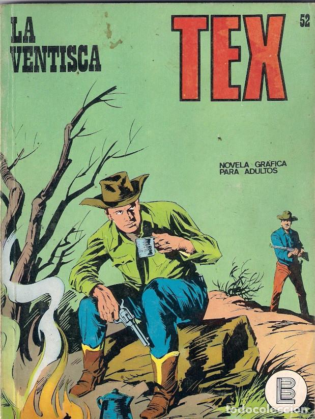 TEX. Nº 52. LA VENTISCA (Tebeos y Comics - Buru-Lan - Tex)