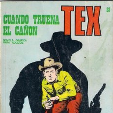 Cómics: TEX. Nº 28. CUANDO TRUENA EL CAÑÓN.. Lote 117180283