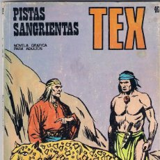 Cómics: TEX. Nº 46. PISTAS SANGRIENTAS.. Lote 117180419