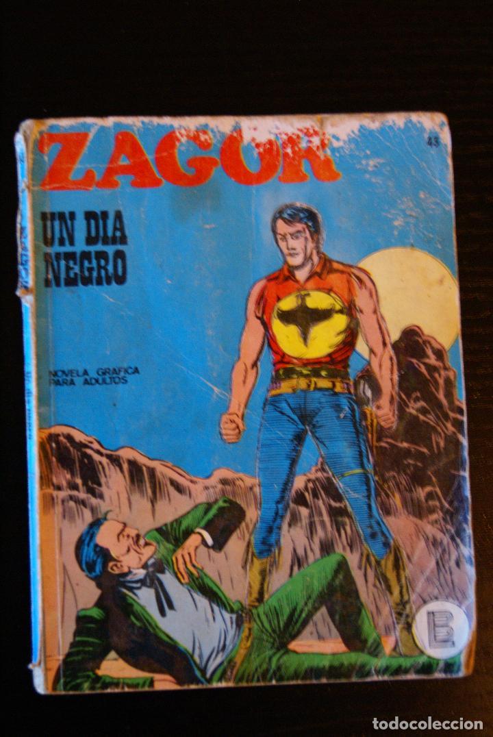 ZAGOR Nº 43 (Tebeos y Comics - Buru-Lan - Zagor)