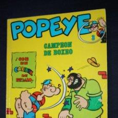 Cómics: BIBLIOTECA BURU LAN POPEYE Nº3 : CAMPEON DE BOXEO. Lote 117353163