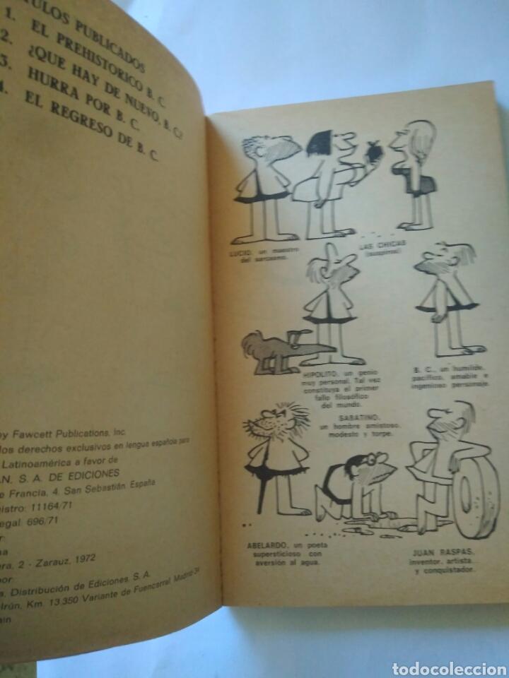 Cómics: EDAD DE PIEDRA HURRA PORB.C.- POR J.HART BURU LAN año 1972 - Foto 2 - 117515220