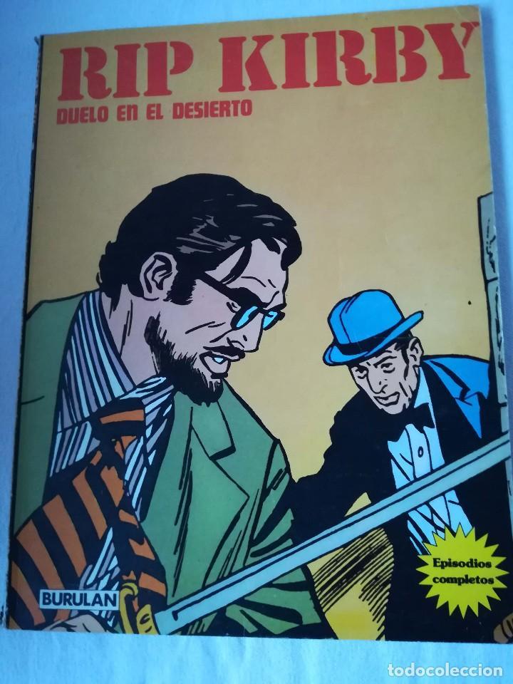 RIP KIRBY - DUELO EN EL DESIERTO (Tebeos y Comics - Buru-Lan - Rip Kirby)