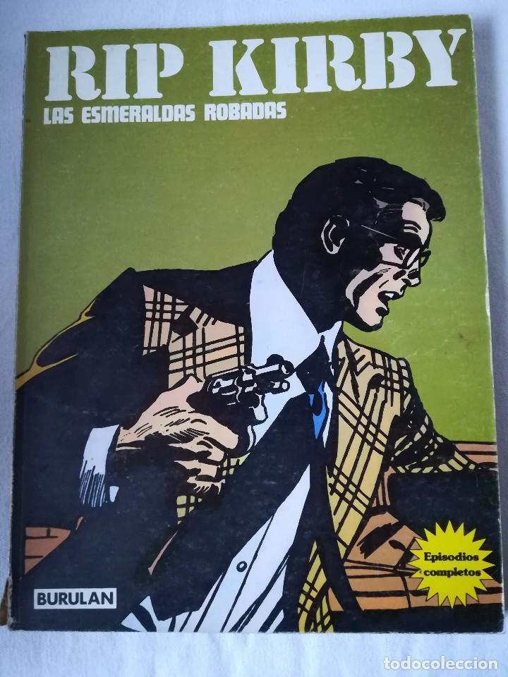 RIP KIRBY - LAS ESMERALDAS ROBADAS (Tebeos y Comics - Buru-Lan - Rip Kirby)