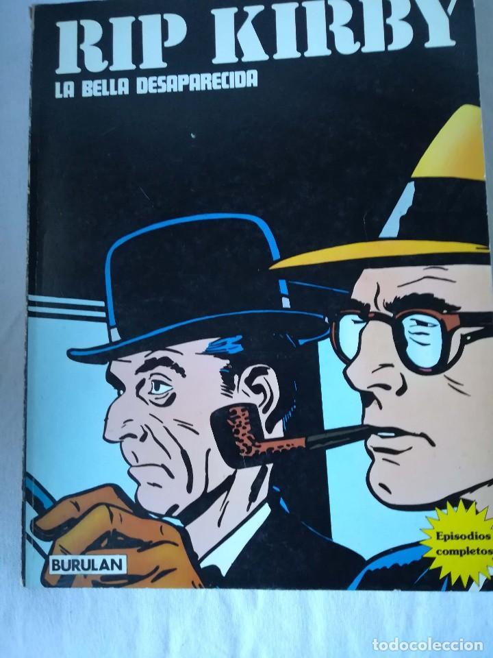RIP KIRBY - LA BELLA DESAPARECIDA (Tebeos y Comics - Buru-Lan - Rip Kirby)