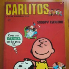 Cómics: TEBEO CÓMIC CARLITOS Y LOS CEBOLLITAS Nº 3: SNOOPY ESCRITOR (1971) DE BURU LAN COMICS. Lote 118408235