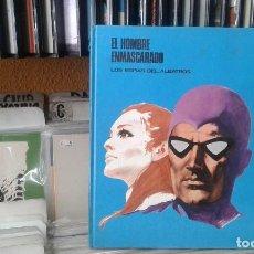 Cómics: EL HOMBRE ENMASCARADO TOMO 2 - LOS ESPÍAS DEL ALBATROS - BURU LAN 1971. Lote 118444123