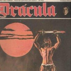 Cómics: DRACULA. Nº 2. BURU LAN COMICS. 26 FEBRERO 1971. Lote 118543675