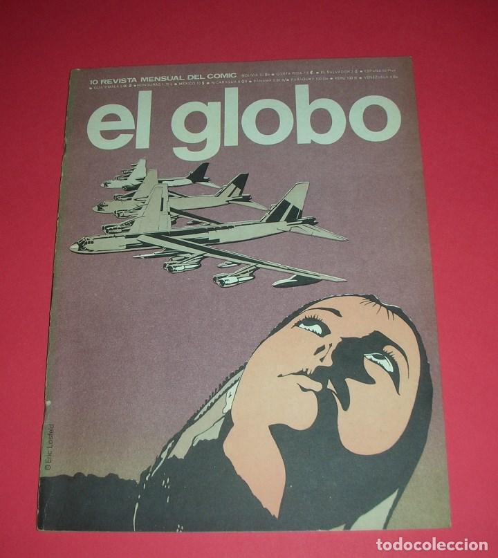 REVISTA EL GLOBO Nº 10 BURU LAN . BUEN ESTADO . 1973 (Tebeos y Comics - Buru-Lan - Otros)