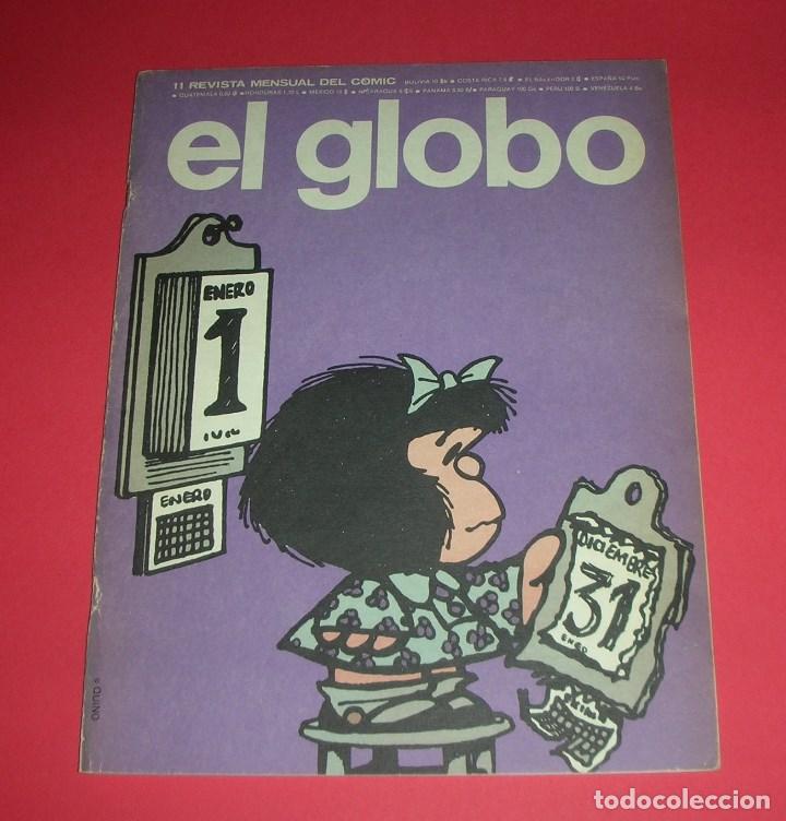 REVISTA EL GLOBO Nº 11 BURU LAN . BUEN ESTADO . 1973 (Tebeos y Comics - Buru-Lan - Otros)