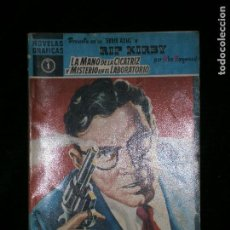 Cómics: F1 RIP KIRBY LA MANO DE LA CUCATRIZ Y EL MISTERIO EN EL LABORATORIO Nº1 AÑO 1958 . Lote 118566875