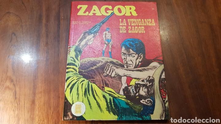 ZAGOR 11 BASTANTE NUEVO BURU LAN (Tebeos y Comics - Buru-Lan - Zagor)