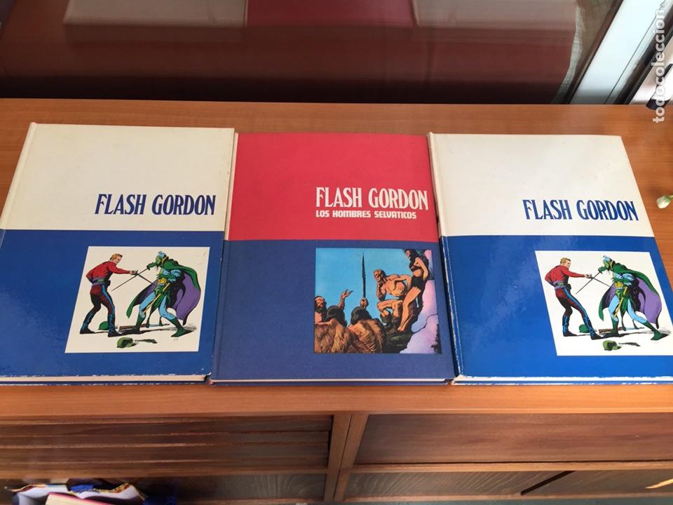 FLASH GORDON , TOMO 1,2,3 - BURU LAN (Tebeos y Comics - Buru-Lan - Flash Gordon)