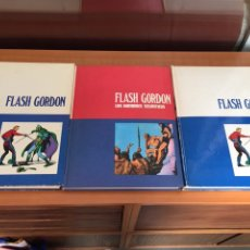 Cómics: FLASH GORDON , TOMO 1,2,3 - BURU LAN. Lote 118638272