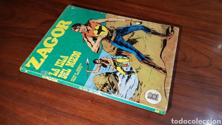 ZAGOR BURU LAN NUMERO 15 BUEN ESTADO (Tebeos y Comics - Buru-Lan - Zagor)
