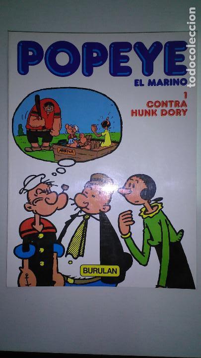 POPEYE EL MARINO * BURULAN 1983 * LOTE Nº 1-2-3-4-5-6 * (Tebeos y Comics - Buru-Lan - Popeye)