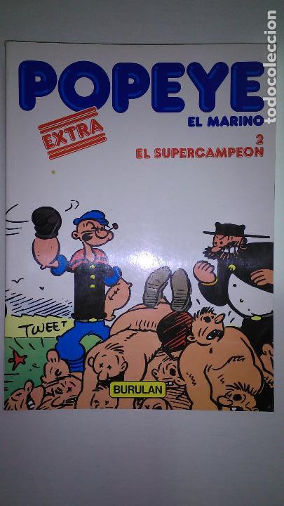 Cómics: POPEYE EL MARINO * BURULAN 1983 * LOTE Nº 1-2-3-4-5-6 * - Foto 2 - 118833095