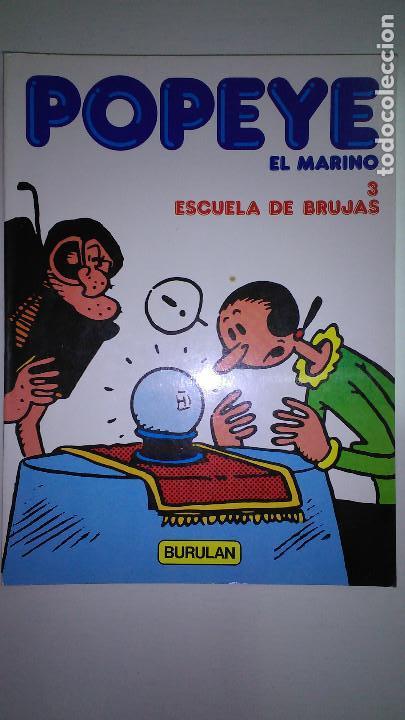 Cómics: POPEYE EL MARINO * BURULAN 1983 * LOTE Nº 1-2-3-4-5-6 * - Foto 3 - 118833095