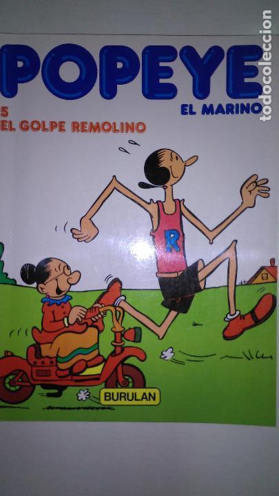 Cómics: POPEYE EL MARINO * BURULAN 1983 * LOTE Nº 1-2-3-4-5-6 * - Foto 5 - 118833095