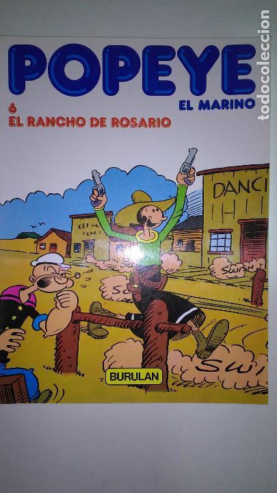 Cómics: POPEYE EL MARINO * BURULAN 1983 * LOTE Nº 1-2-3-4-5-6 * - Foto 6 - 118833095