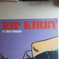 Cómics: RIP KIRBY. EL CASO FARADAY 1974. BURULAN. Lote 118852251