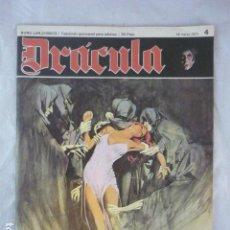 Cómics: DRACULA - N º 4 - 1971 - BURU LAN COMICS. Lote 118855611