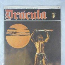 Cómics: DRACULA - Nº 2 - 1971 - BURU LAN COMICS. Lote 118855727