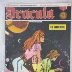 Cómics: DRACULA - Nº 4 - 1972 - BURU LAN COMICS. Lote 118855895