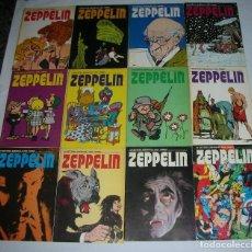 Cómics: ZEPPELIN REVISTA MENSUAL DEL COMIC. BURU LAN 1973. 12 NÚMEROS.COMPLETA . ENVÍO GRATIS. Lote 118863827