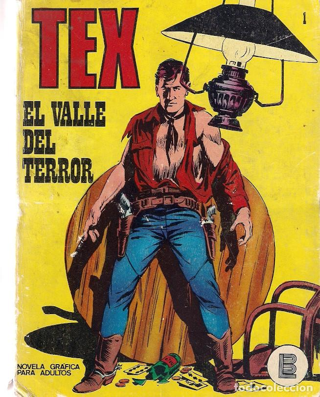 TEX Nº 1. BURU LAN. (Tebeos y Comics - Buru-Lan - Tex)