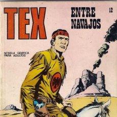 Cómics: TEX. Nº 12. ENTRE NAVAJOS.. Lote 118929803