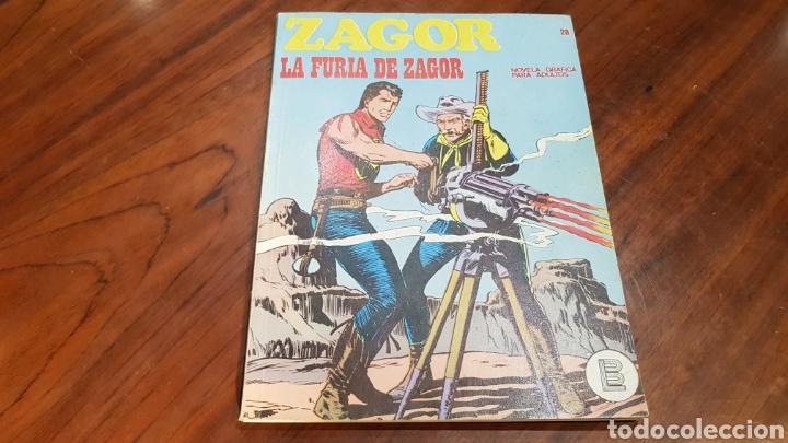 ZAGOR 28 MUY BUEN ESTADO BURU LAN (Tebeos y Comics - Buru-Lan - Zagor)