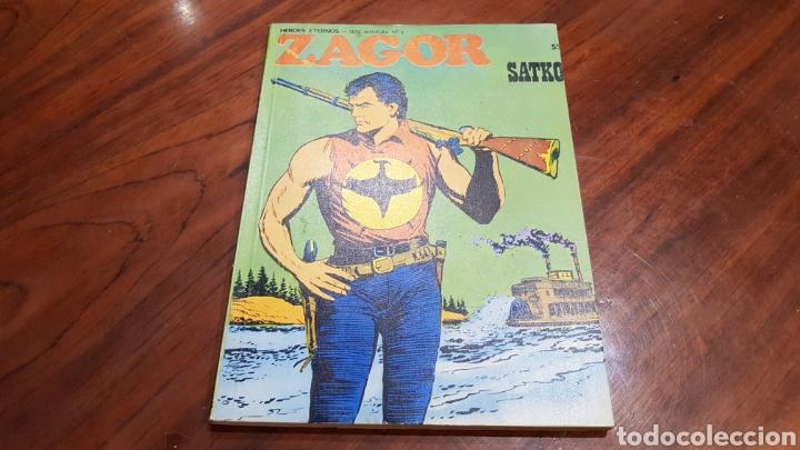 ZAGOR 55 BASTANTE NUEVO BURU LAN (Tebeos y Comics - Buru-Lan - Zagor)