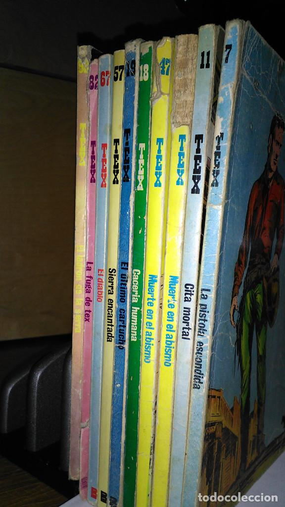 Cómics: * TEX * EDICIONES BURULAN 1970 * LOTE 7 NUMEROS OFERTA * - Foto 2 - 119502015