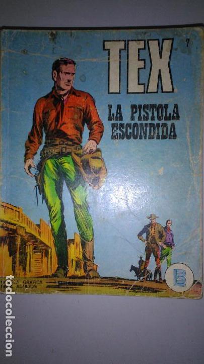 Cómics: * TEX * EDICIONES BURULAN 1970 * LOTE 7 NUMEROS OFERTA * - Foto 3 - 119502015