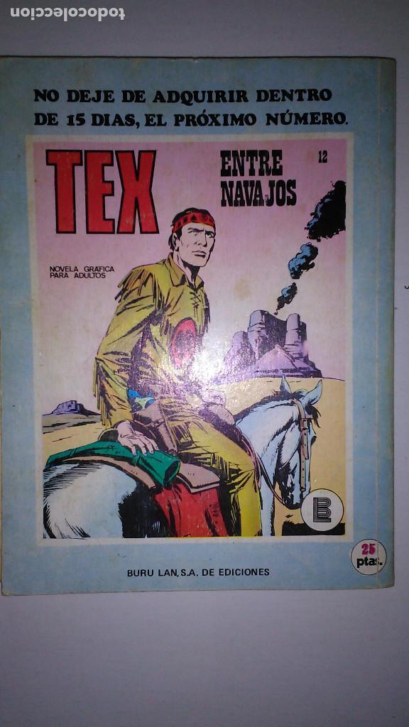 Cómics: * TEX * EDICIONES BURULAN 1970 * LOTE 7 NUMEROS OFERTA * - Foto 6 - 119502015