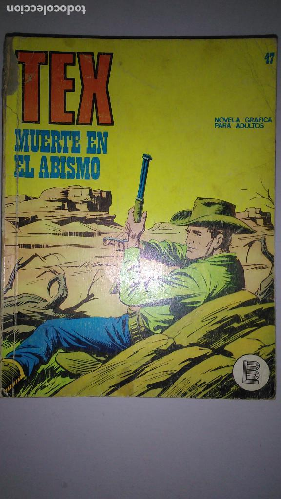 Cómics: * TEX * EDICIONES BURULAN 1970 * LOTE 7 NUMEROS OFERTA * - Foto 7 - 119502015