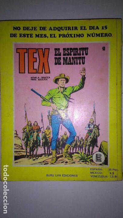 Cómics: * TEX * EDICIONES BURULAN 1970 * LOTE 7 NUMEROS OFERTA * - Foto 8 - 119502015