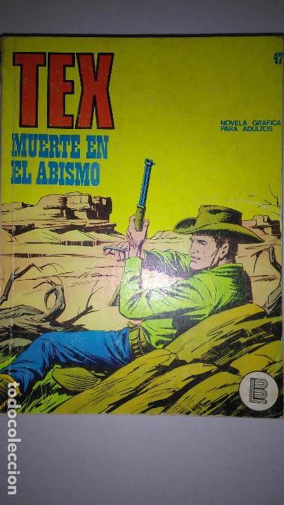 Cómics: * TEX * EDICIONES BURULAN 1970 * LOTE 7 NUMEROS OFERTA * - Foto 15 - 119502015
