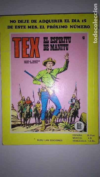 Cómics: * TEX * EDICIONES BURULAN 1970 * LOTE 7 NUMEROS OFERTA * - Foto 16 - 119502015
