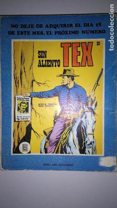 Cómics: * TEX * EDICIONES BURULAN 1970 * LOTE 7 NUMEROS OFERTA * - Foto 10 - 119502015