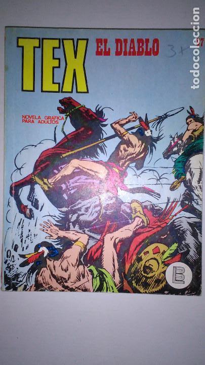 Cómics: * TEX * EDICIONES BURULAN 1970 * LOTE 7 NUMEROS OFERTA * - Foto 13 - 119502015