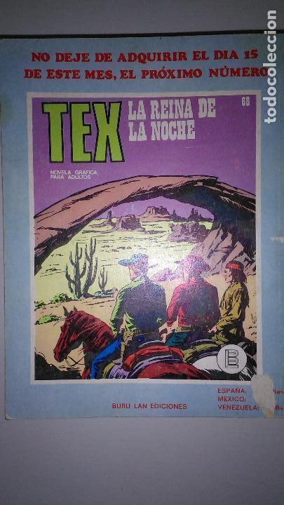 Cómics: * TEX * EDICIONES BURULAN 1970 * LOTE 7 NUMEROS OFERTA * - Foto 14 - 119502015